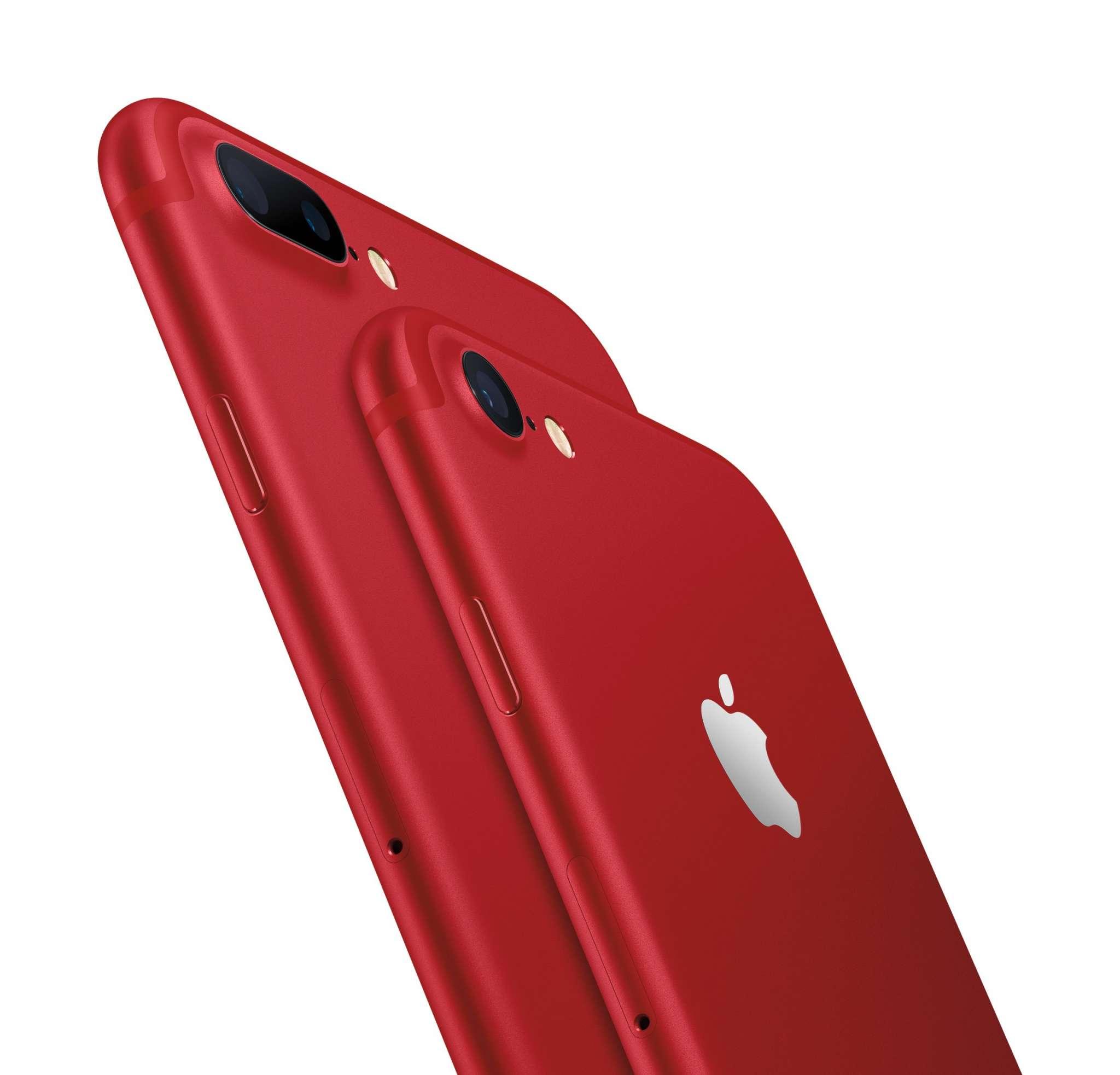 آیفون۷ قرمز معرفی شد