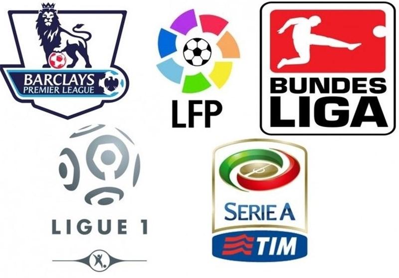 نتایج بازی های دیشب فوتبال در لیگ های معتبر اروپایی