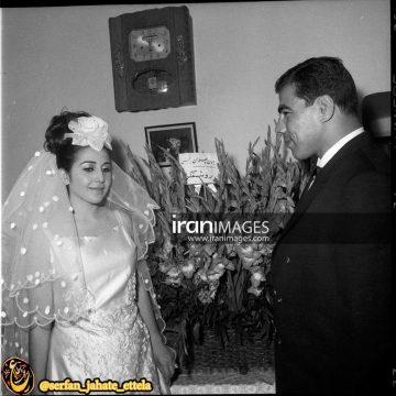 عکس قدیمی: مراسم عروسی جهان پهلوان تختی
