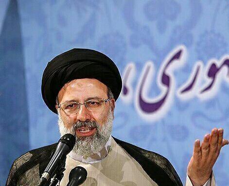 حضور رئیسی در فراکسیون روحانیون مجلس