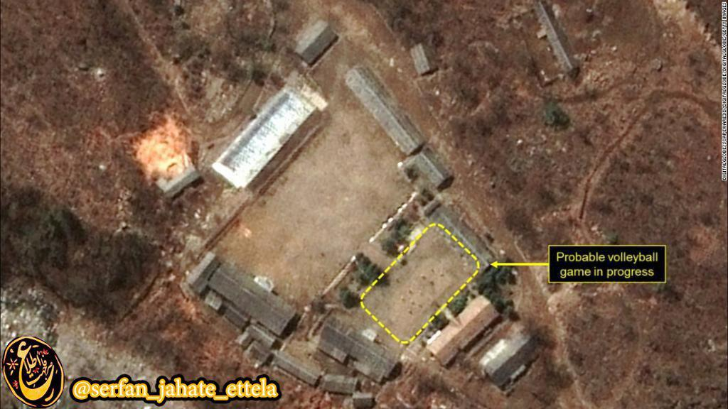 تصاویر ماهواره ای از یکی از سایت های هسته ای کره شمالی