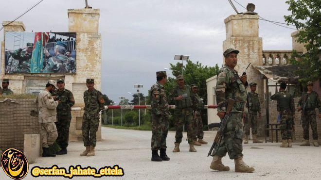 بیش از صد نفر کشته در حمله روز گذشته «طالبان» به یک مقر نظامی ارتش