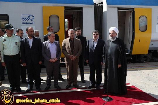 رییس جمهور صبح امروز یکشنبه به منظور افتتاح پروژه های عمرانی و صنعتی وارد قزوین شد.