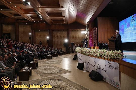 عدم پخش سخنرانی رییس جمهور از صداوسیمای استان قزوین