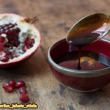 قبل از صبحانه یک قاشق رب انار بخورید!