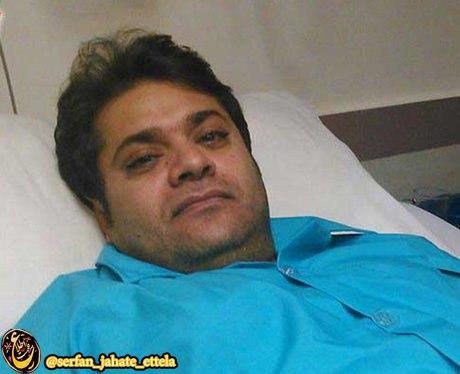 غلامرضا صنعتگر خواننده پاپ هرمزگان در حمله افراد مسلح مجروح شد