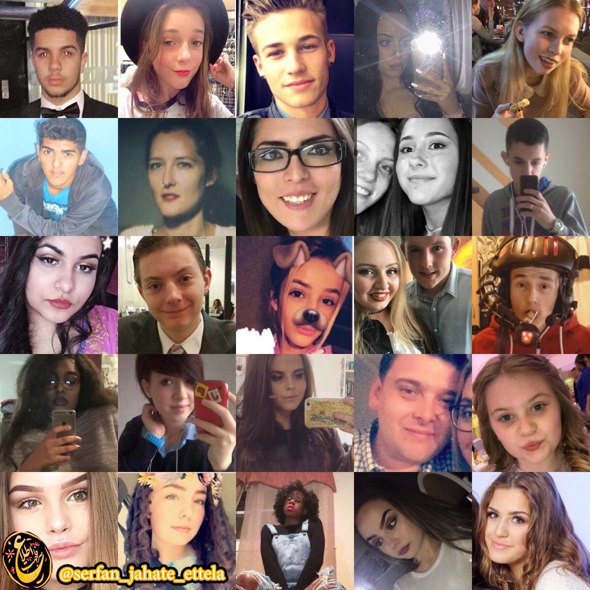 تصاویر برخی از کشته شدگان بامداد امروز در سالن کنسرت منچستر