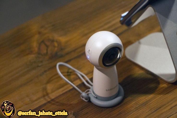 دوربین ۳۶۰ درجه جدید سامسونک Gear 360 از فردا به بازار عرضه میشود
