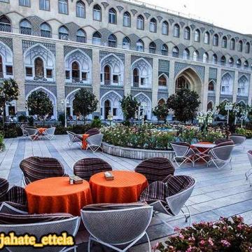 """سی ان ان هتل عباسی اصفهان را """"زیباترین هتل شرق میانه"""" خواند"""