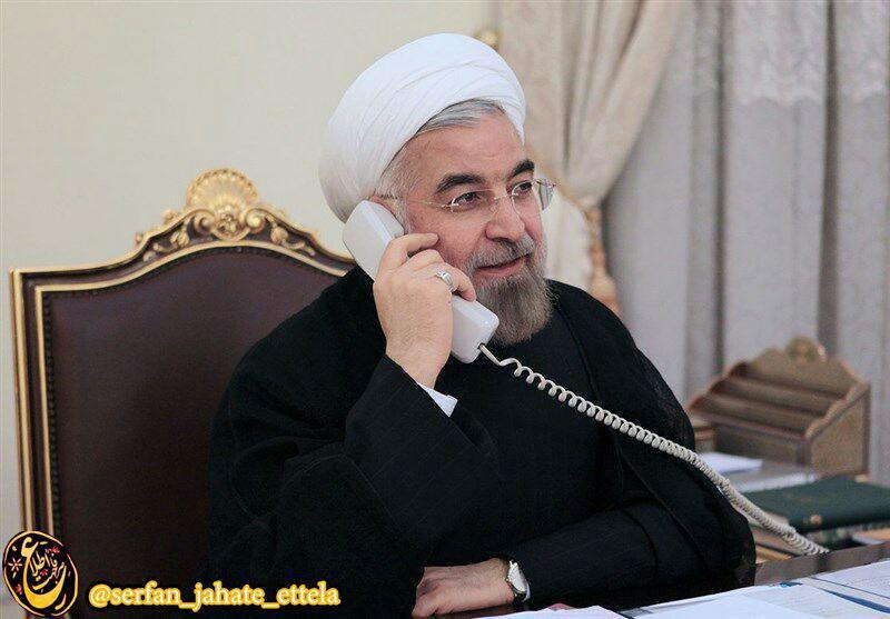 تماس تلفنی رییسجمهور جدید فرانسه با روحانی