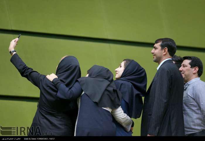تصویر:  جلسه علنی مجلس شورای اسلامی