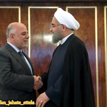 نخست وزیر عراق در تهران با روحانی دیدار و درباره مسائل دوجانبه، منطقهای و موصل گفتگو کردند.