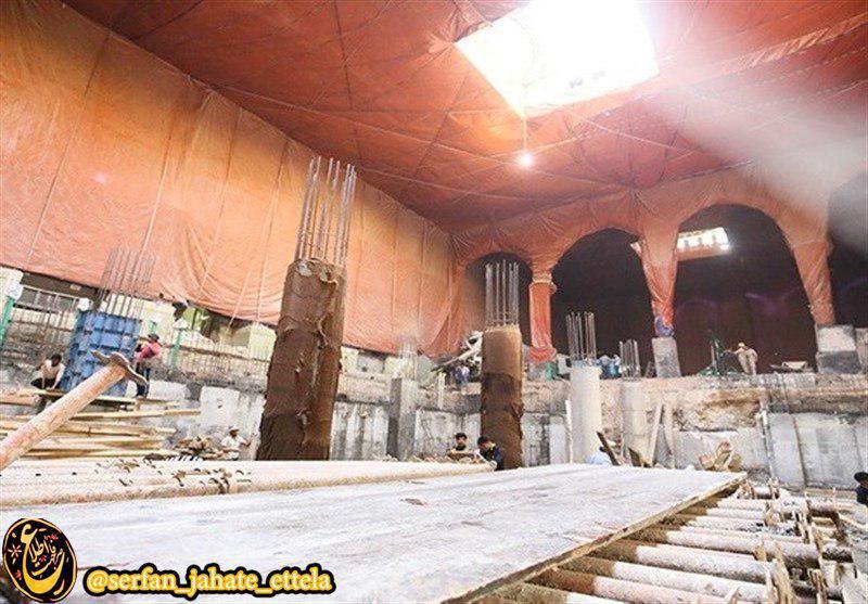 سرداب جدید داخل صحن امام حسین(ع) پیش از روز عرفه افتتاح می شود