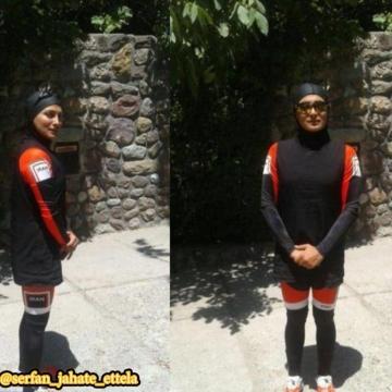 لباس بانوان سه گانه کار مورد تایید وزارت ورزش قرار گرفت