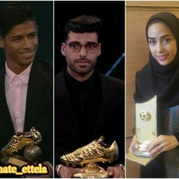 برترین های فصل ۹۶-۹۵ فوتبال ایران