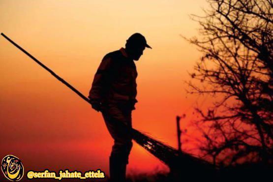 «سید علی حسینی» پاکبان شهرداری دچار گرمازدگی شد درگذشت