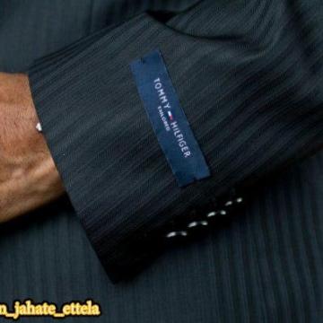 این مارک که روی آستین کتی که خریدید، جزو طراحی لباس نیست