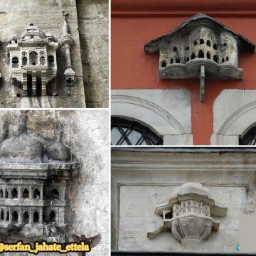 لانه های تزئینی پرندگان در کشور ترکیه که موجب زیبایی خیابان ها شده اند