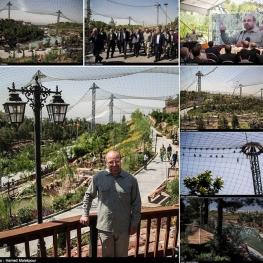 بازدید شهردار تهران از فاز دوم پاغ پرندگان تهران