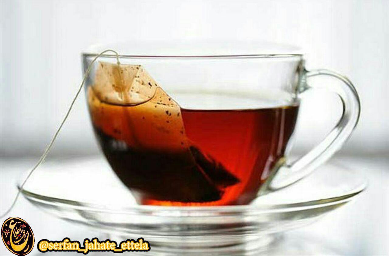 چای کیسه ای استفاده نکنید !