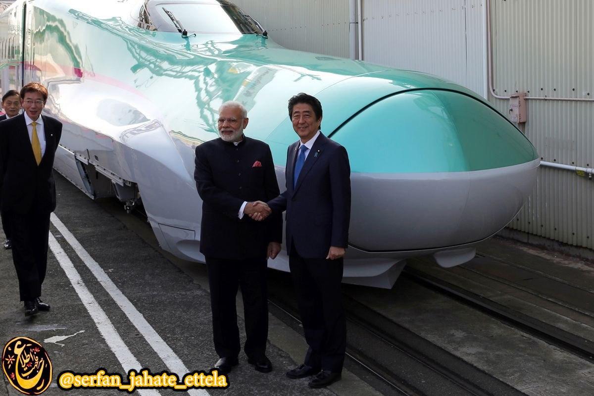 هند اولين خريدار خارجى قطارهاى پرسرعت شينكانسن ژاپن