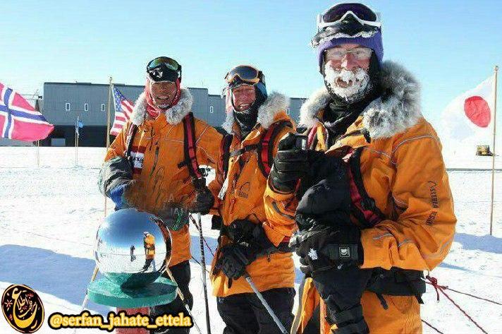 بدون کشیدن دندان عقل و درآوردن آپاندیس نمیتوانید به قطب جنوب بروید.
