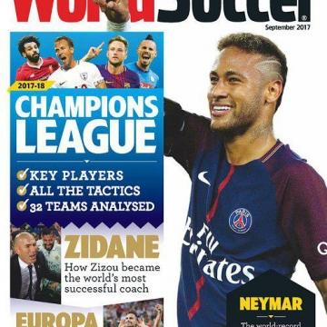 جدیدترین شماره از مجله مشهور #ورزشی  World Soccer