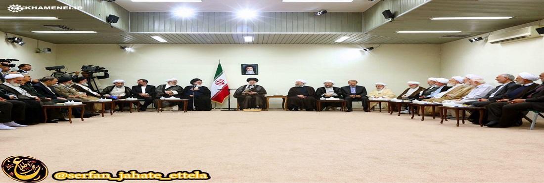 رئیس و اعضای دوره جدید مجمع تشخیص مصلحت نظام، پیش از ظهر امروز با رهبر انقلاب اسلامی دیدار كردند