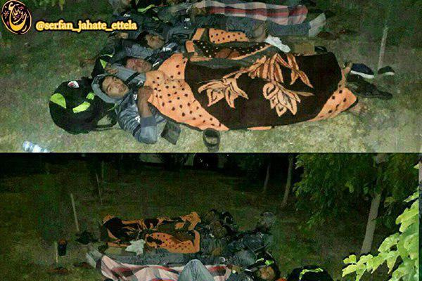 تیم فوتبالی که در پارک خوابید!