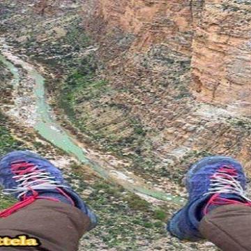 تنگه «هايقر» به طول ١٣ كيلومتر در فيروزآباد فارس