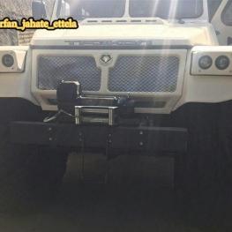 یک دستگاه خودروی غولپیکر ترکول چند منظوره (دوزیست) به ظن قاچاق توقیف شد