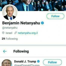 عشق توییتری یکطرفه نتانیاهو به ترامپ