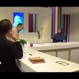 ویدیو: اتفاقی عجیب در شبکه ۴ سیما!