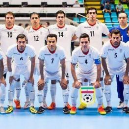صعود فوتسال ایران به جام ملتهای آسیا ۲۰۱۸