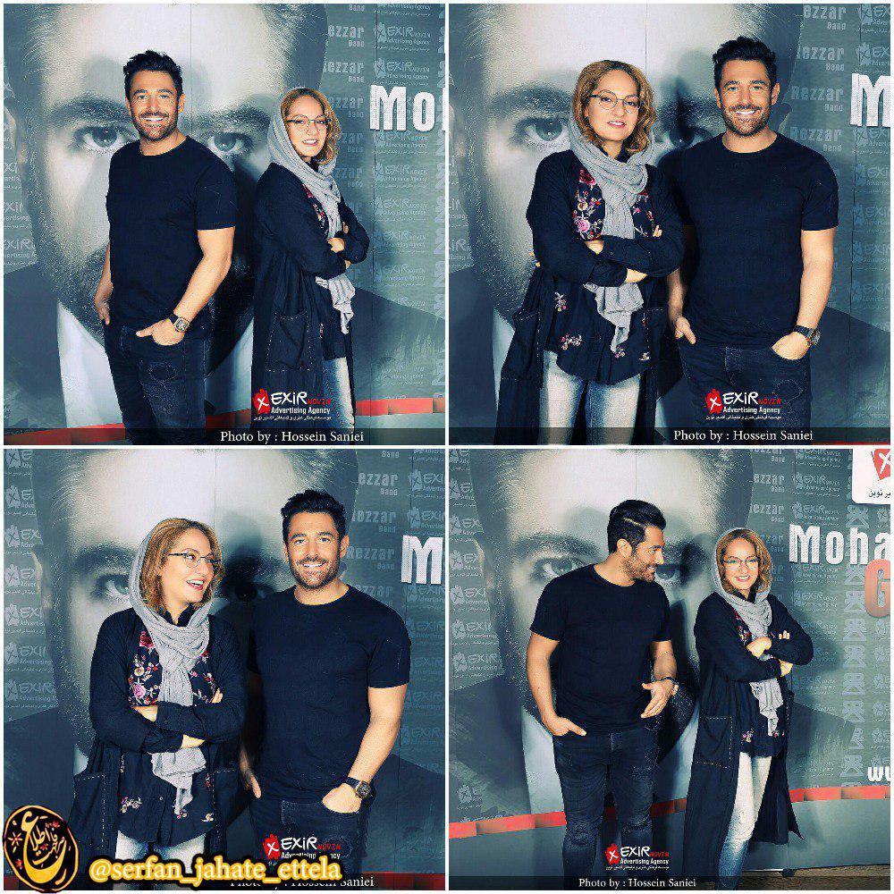 اینستاگرام گردی: عکسهای جدید مهناز افشار و محمدرضا گلزار