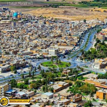 تصویر شهر سرپل ذهاب قبل از زلزله ویرانگر
