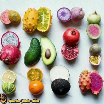 اینا میوه های عجیب و غریب دنیا هستن