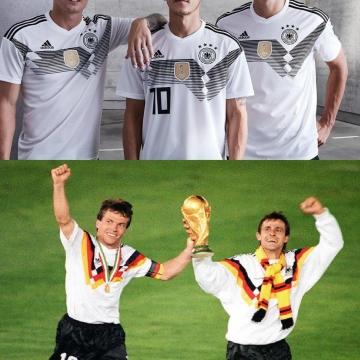 لباس جدید تیم ملی آلمان برای جام جهانی ۲۰۱۸رسما رونمایی شد