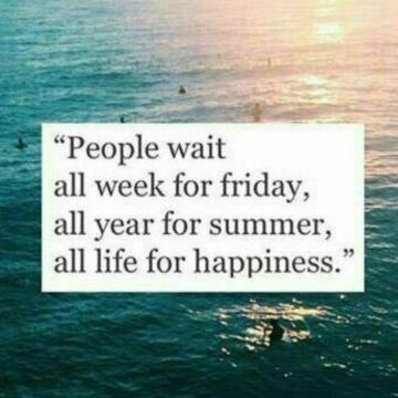 مردم  ،تمام هفته در انتظار جمعه ، تمام سال منتظر تابستان
