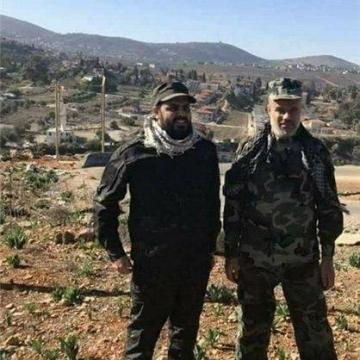 سفریک فرمانده حشد الشعبی عراق،به جنوب لبنان و مناطق مرزی