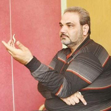 جواد خیابانی در جشن شب یلدا خطاب به زلزله زدگان کرمانشاه