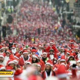جوری که ایرانیا تو اینستاگرام دارن به استقبال کریسمس میرن