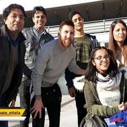 آرزوی دختر پناهجوی سوری در باشگاه بارسلونا برآورده شد