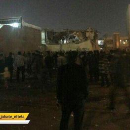 انفجار گاز در کوی نبوت اهواز باعث تخریب یک خانه مسکونی شد