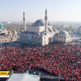 مراسم سالگرد(درگذشت) مولانا در ترکیه.