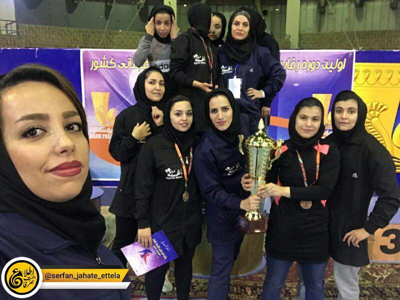 دختران کرمانشاه، قهرمان اولین دوره کشتی کلاسیک قهرمانی کشور