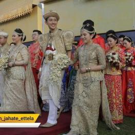 ازدواج دستهجمعی به مناسبت شصتمین سالگرد برقراری روابط دیپلماتیک میان چین و سریلانکا