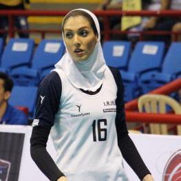 موافقت فدراسیون والیبال  بلژیک برای حضور محجبه فرنوش شیخی