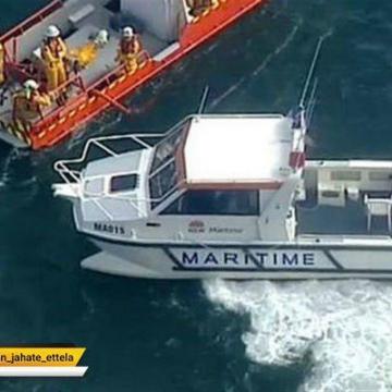 واژگون شدن یک قایق تفریحی در اندونزی