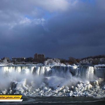 تصویر: نیاگارای یخ زده!